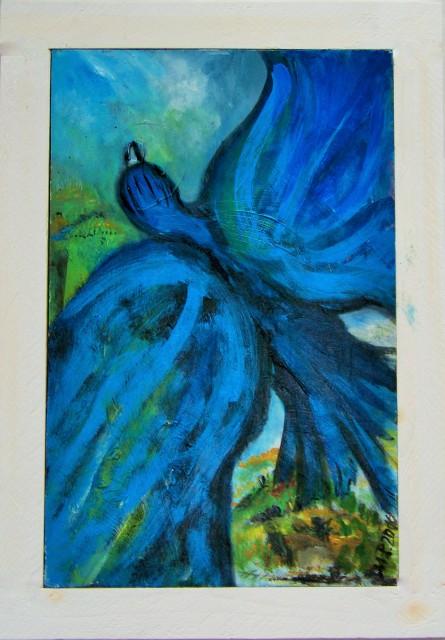 ...gut Wind, blauer Vogel