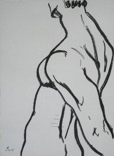 Rückenansicht, Peter Rademacher