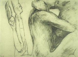 Die Bildhauerin I, Anita Voigt