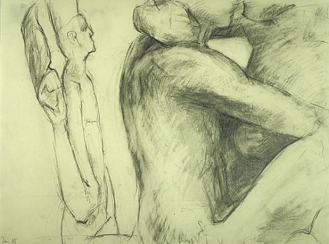 Die Bildhauerin I