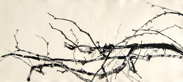 Anita Voigt - Am Fenster der Wein I