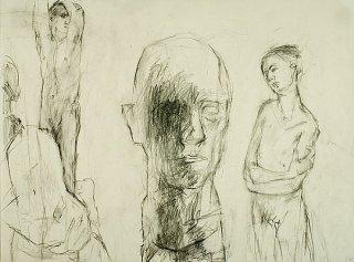 Die Bildhauerin II, Anita Voigt