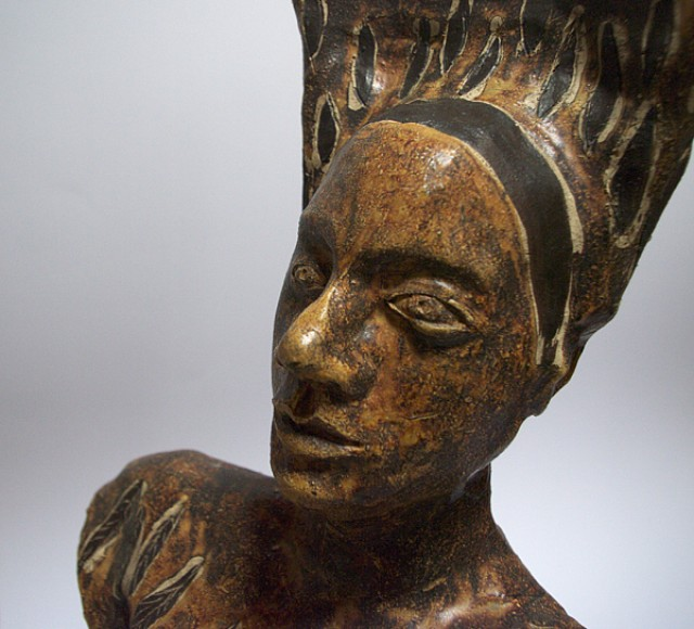 Frau (Detail)