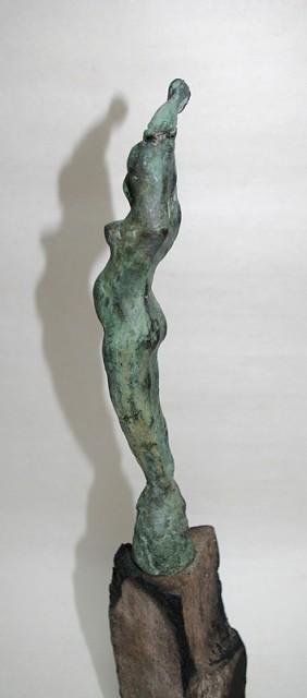 kleine Schwangere / Bronze