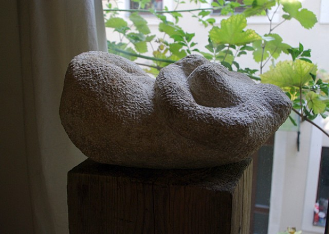 Reife Frucht  2/ Sandstein 2009