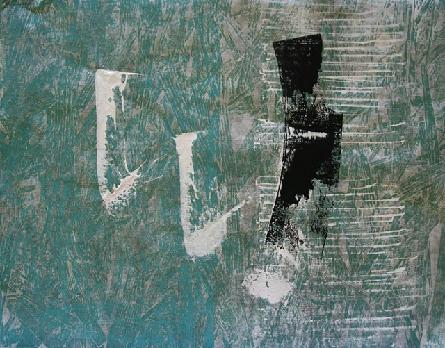 Wasser IV, Japanpapier