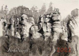 Serie II Bewegung / Wasser 6098, Anita Voigt