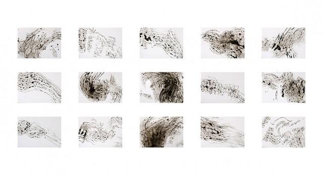 Anita Voigt: Serie 1 Bewegung / Wasser