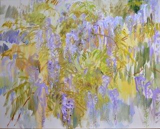 Blauregen III, Anita Voigt