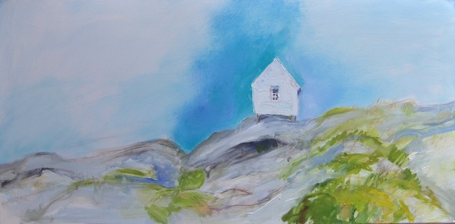 Anita Voigt: Haus II / Sommer