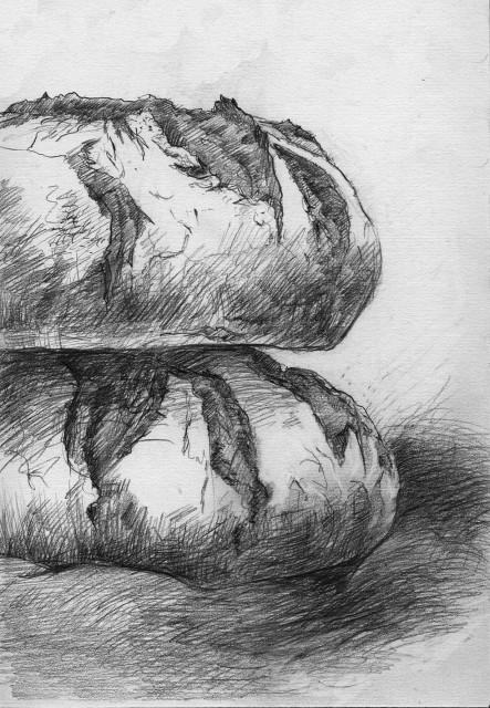 Anita Voigt - Beispiel Illustration Lutz Geißler/Brotbackbuch