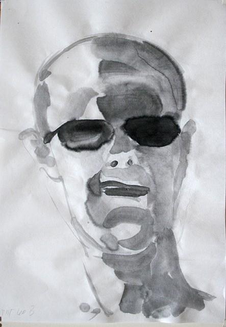 L.B. mit Sonnenbrille
