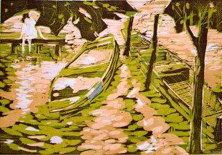 Masuren / Die Boote, Anita Voigt