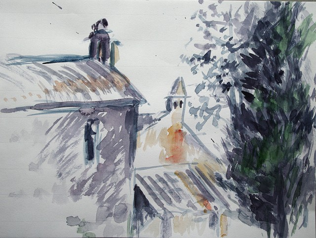 Anita Voigt: Santa Maria di Ferrano I