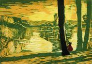 Masuren / Abend am See, Anita Voigt