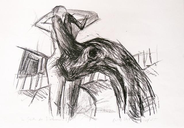 Anita Voigt - Im Garten der Bildhauerin II