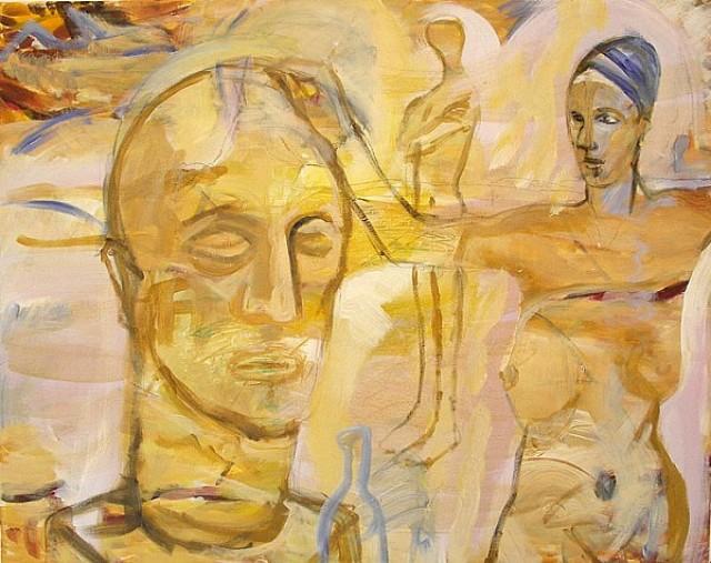 Die Bildhauerin (verkauft)