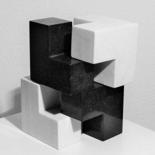 2 würfel marmor granit, Otmar Spiss