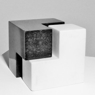 würfel, marmor-granit, Otmar Spiss