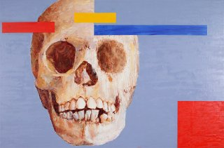 FACE BLUE RED, Albert Weber