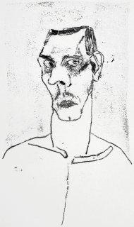 Selbstbildnis, Friedrich Fröhlich