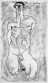 Körperstudie, Friedrich Fröhlich