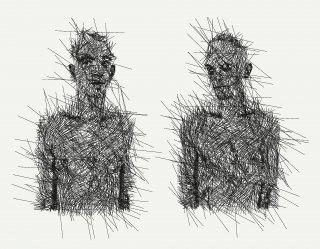 Doppelbildnis, Friedrich Fröhlich