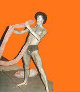 Skulpture Kostüme Penis -Ulisses Performance - Warschau 1984, Alexandra Holownia
