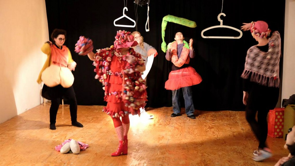 Alexandra Fly Dance Performance in Open Performance Academy Rotterdam 2018, Alexandra Holownia