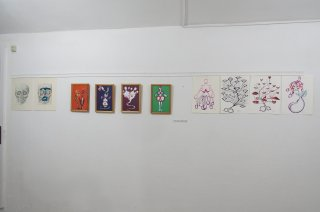 Nymphen - Exhibitions in GZ Gallery Barcelona 2015, Alexandra Holownia