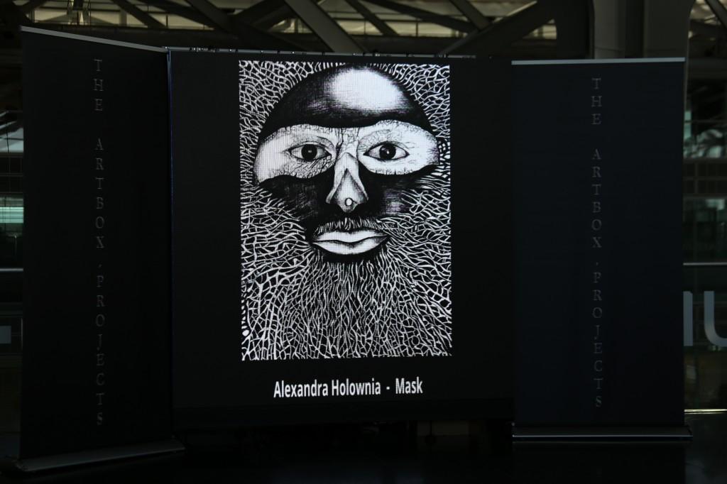 Masks, Alexandra Holownia