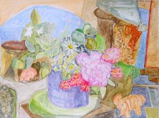 Stilleben mit Blumenstrauß 2, Wolfgang Bittkau