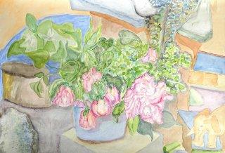 Stilleben mit Blumenstrauß 1, Wolfgang Bittkau