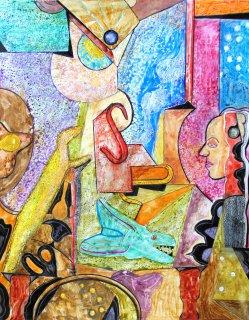 Komposition 13, Wolfgang Bittkau