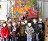 Besuch des Kindergartens