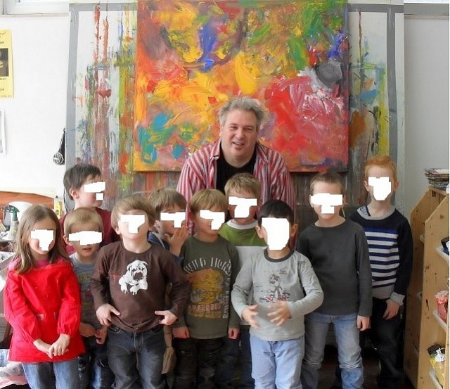 Ausstellung «Besuch des Kindergartens »