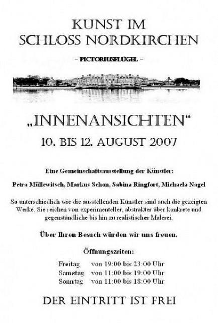 Ausstellung «Innenansichten»