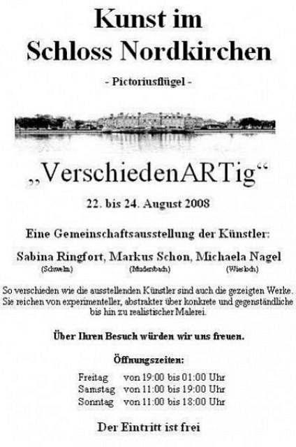 Ausstellung «VerschiedenARTig»