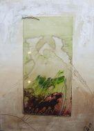 Mischtechnik  auf Glas