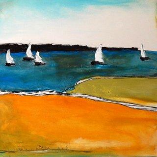 Abstrakte Landschaften, Conny Wachsmann