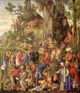 Marter der zehntausend Christen, Albrecht Dürer