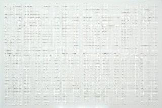 Monochrom Weiss Struktur, Michael Schmidt