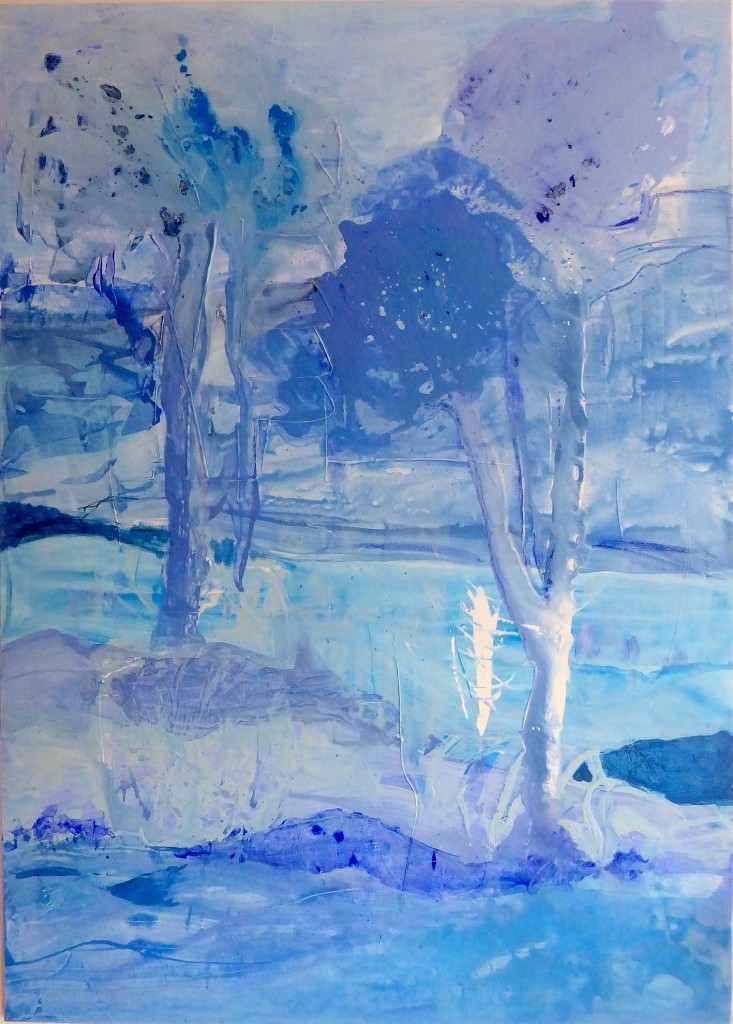 Frozen dreams: trees, Mechthild Schütz-Frericks