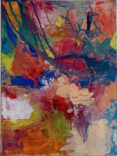 Farbe organisch III, Mechthild Schütz-Frericks