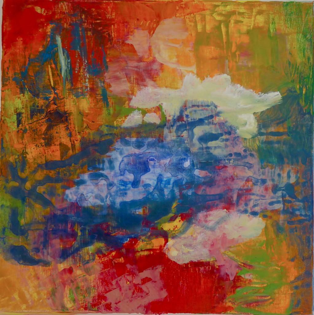 Farbe organisch II, Mechthild Schütz-Frericks