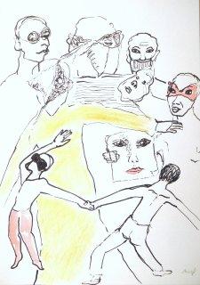 Maskenmenschen, Mechthild Schütz-Frericks