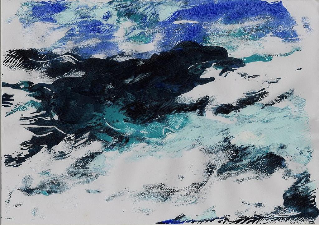 Meer-Meditation 1, Sigrid Braun-Umbach