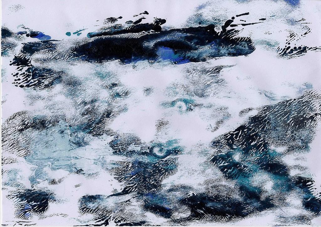 Meer - Meditation 2, Sigrid Braun-Umbach