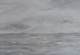 Großes Meerbild, Sigrid Braun-Umbach
