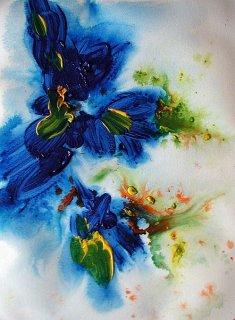geschlitzte Blüten, Kerstin Sigwart